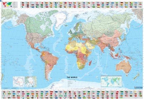 Il mondo scala 128500000 Ediz plastificata ca 100x144 cm PDF