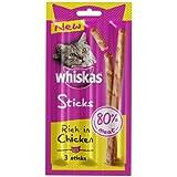 Whiskas Sticks Cat Treats (4 Packs - 3 Sticks Per Pack) Chicken-Chicken