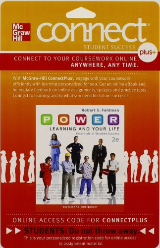 Connect Access Card for P.O.W.E.R. Learning & Your Life