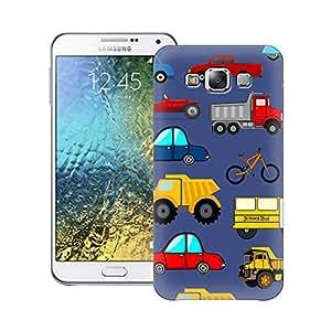 Zapcase Printed Back Case For Samsung Galaxy E7