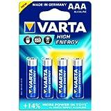 VARTA Batterie HighEnergy Micro AAA 4St