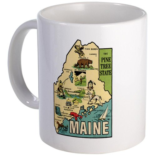 Maine Me Coffee Mug Mug By Cafepress