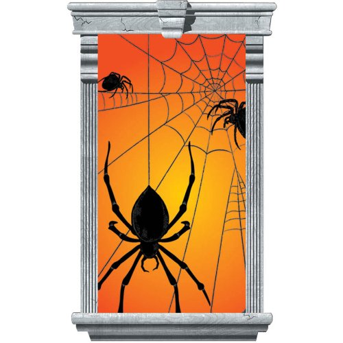 Amscan International Window Silhouette Spider - 1