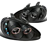 Mazda Mx3 Black Halo Led Projector Headlights