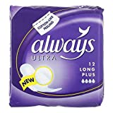 Always Ultra Sanitary Towels Long Plus x 12