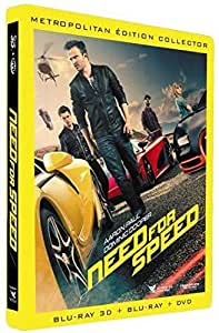 Need for Speed [Combo Blu-ray 3D + Blu-ray + DVD - Édition boîtier SteelBook] [Combo Blu-ray 3D + Blu-ray + DVD - Édition boîtier SteelBook]