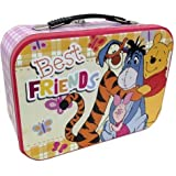 Winnie the Pooh Tiger and Eeyore Best Friends Collectible Metal Lunch Box Tin
