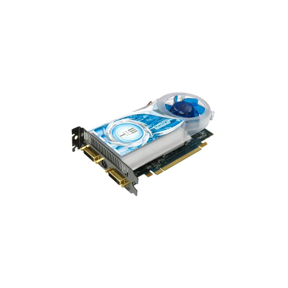 HIS H365Q512GNP Radeon HD 3650 IceQ Turbo HDMI 512MB (128bit) GDDR3