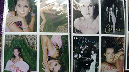 celine-dion-12-photos-stickers-3-sheets
