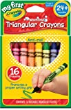 Crayola My First Crayola Triangular Crayons 16ct