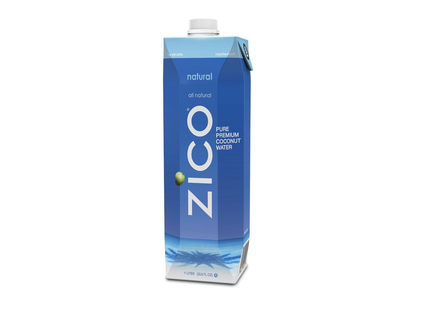 Amazon - 6 x ZICO Pure Premium Coconut Water,natural 33.8oz - $13.60