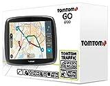 TomTom-Go-6100-World-Navigationssystem-15-cm-6-Zoll-kapazitives-Touch-Display-Magnethalterung-Sprachsteuerung-mit-TrafficLifetime-Weltkarten