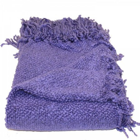 Marion Woven Acrylic Throw Color: Iris