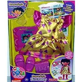 Dora Dress And Style Fashions Birthday Party