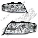 ヘッドライトハロゲン LED ポジション ライト付 | アウディ A6 C5 4B ワゴン '02-