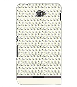 PrintDhaba Pattern D-1581 Back Case Cover for SONY XPERIA E4 (Multi-Coloured)