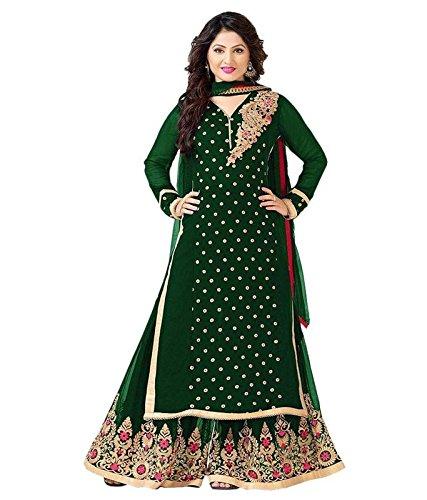 Shree-Fashion-Womens-Green-Banglory-Workwear-Lahenga-Choli-SL-14SFNEWA850