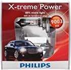 Philips 9003 XPS2 X-treme Power Headlight Bulb, Pack of 2