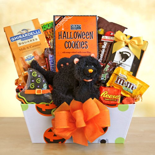 Scaredy Cat Treats for Halloween Gift Basket