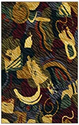 Shaw Living Centre Street Collection 5 by 8 Roxy Area Rug, Multi
