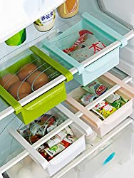 Inddus BPA Free Multi Purpose Storage Racks Tray (Pack of 2) (Assorted Colours)