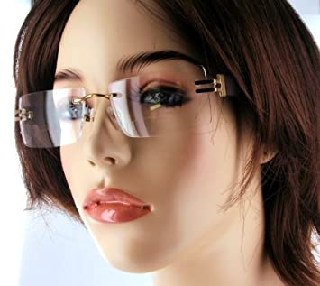 ce8ab957120 Rimless Glasses Make You Look Older