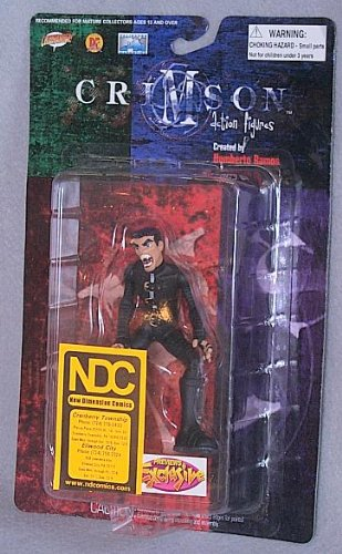 "Crimson Alex Elder 4"" Action Figure"