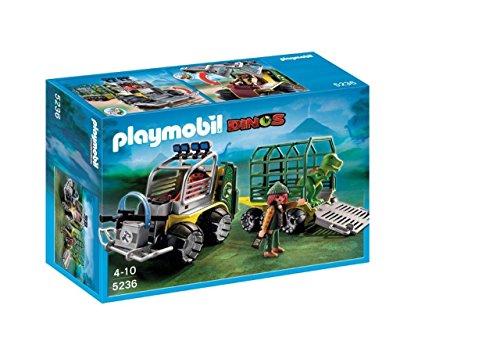 Playmobil-5236-Jeu-de-Construction-Vhicule-avec-Cage-et-Bb-T-Rex