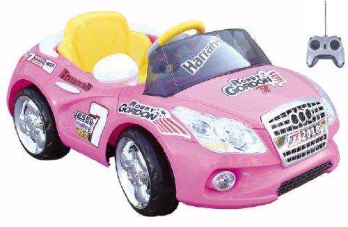 Mario Schiano Auto Elettrica Cabrio Rosa bambino 6V con radiocomando