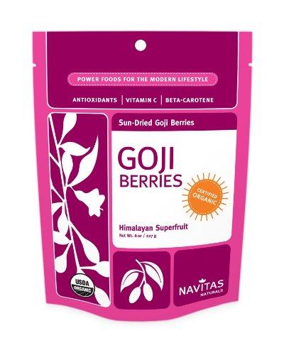 Navitas Naturals Organic Goji Berries Himalayan Superfruit, 16-Ounce Pouch