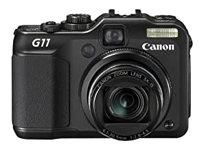 Canon PowerShot G11 Digitalkamera (10 Megapixel, 5-fach opt. Zoom, 7,1 cm (2,8 Zoll) LCD-Display) schwarz