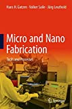 img - for Micro and Nano Fabrication: Tools and Processes book / textbook / text book