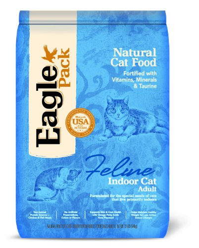 Detail image Eagle Pack Natural Pet Food, Indoor Formula for Cats, 12-Pound Bag