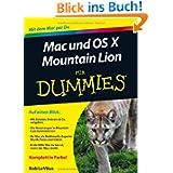 Mac und OS Mountain Lion für Dummies (Fur Dummies)