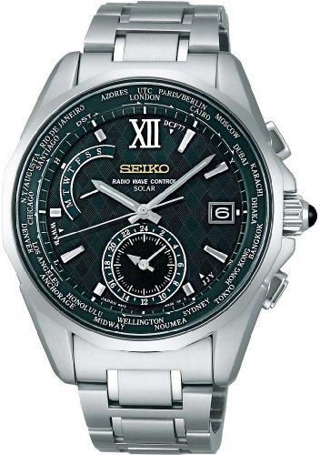 SEIKO (セイコー) 腕時計 BRIGHTZ ブライツ ワールドタイムソーラー 電波時計 SAGA047 メンズ