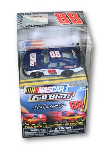 NASCAR Full Blast Pull Back Friction Collectible Car (#88 Dale Earnhardt Jr.) - 1