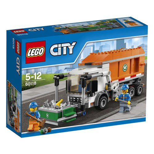 LEGO City Great Vehicles 60118 - Camioncino della Spazzatura