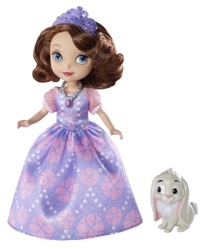 Disney Sofia The First Sofia Doll and Clover The Rabbit - 1