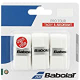 Babolat Pro Tour Overgrip-White (Color: White, Tamaño: One Size)