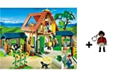Playmobil 4490 Animal Farm with extra Playmobil keychains