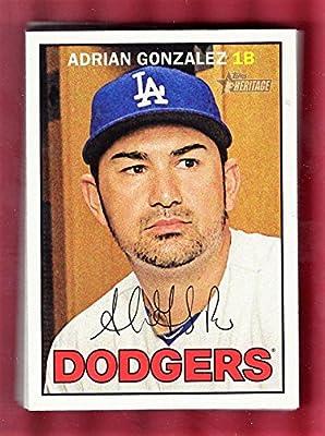 2016 Topps Heritage Los Angeles Dodgers Team Set 15