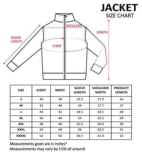 Scott Men's Black Polyester Wrinkle Free Jacket (Black with White Stripes)
