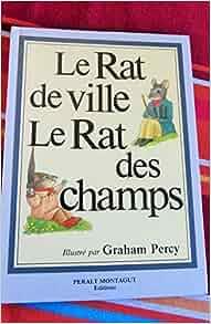 le rat de ville et le rat des champs 9788482140322 books. Black Bedroom Furniture Sets. Home Design Ideas