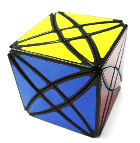 Cheap Fun Lanlan Flower Rex Puzzle Cube Black (B00475IACY)