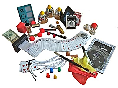 Exclusive WOW Master Magician 300 Trick Set w/ DVD from PSE