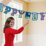 Monsters Inc Monsters University Party Add an Age Happy Birthday Banner