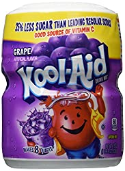 Kool Aid Grape Flavour Drink Mix, 538g