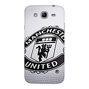 Delighted Grey MU Team Back Case Cover for Galaxy Mega 5.8