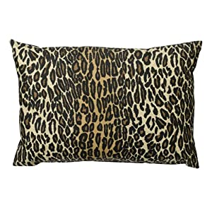 Leopard Decorative Pillow -14x20""