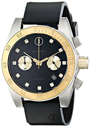 Electric Men'S Ew0070030014 Dw02 Pu Band Analog Display Japanese Quartz Black Watch